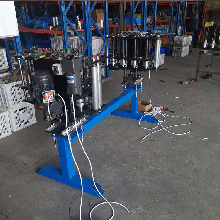 彩钢设备配套设备 复合板机自动钢带机 电动手摇换型带钢封边机 按需供应