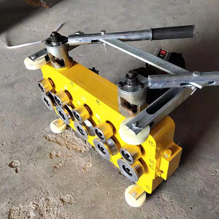 铝镁锰板咬口机 角驰电动锁边机 760电动咬口机 来电报价