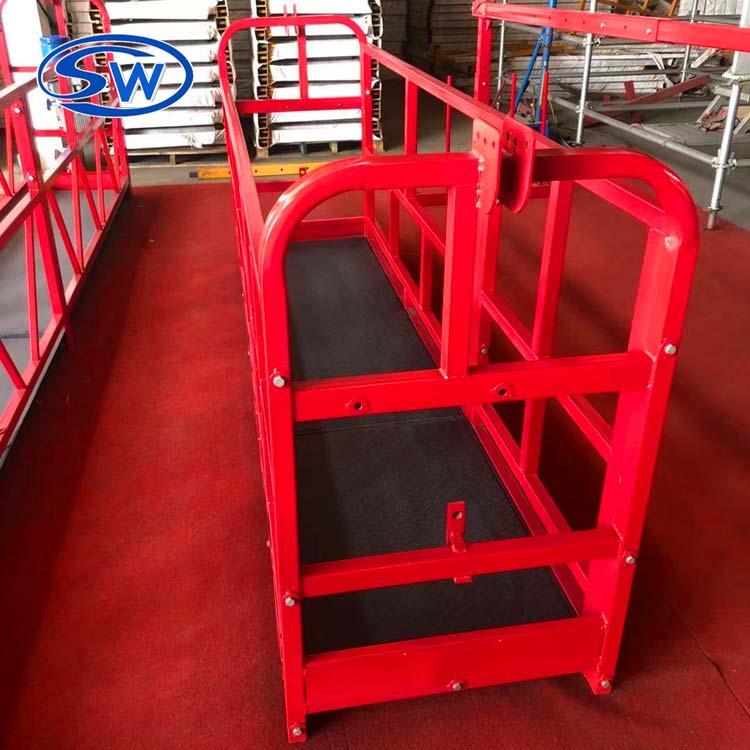 厂家出售工程机械吊篮 外墙建筑电动吊篮 高空建筑喷涂吊篮 质优价廉