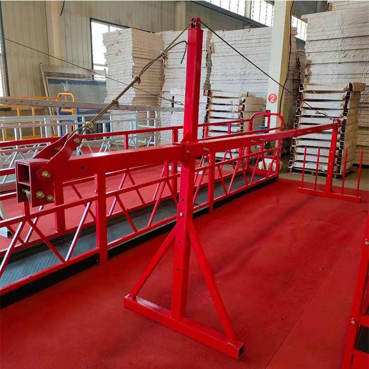 河北电动吊篮 外墙施工吊栏 支持定制 建筑吊篮 外墙施工吊篮