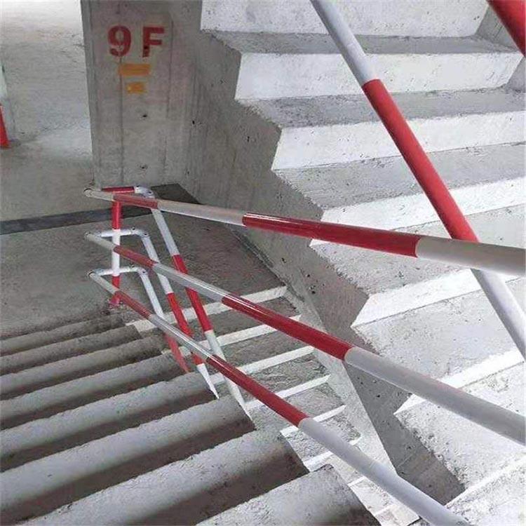 临时楼梯扶手 现货 临边防护栏立杆 楼梯防护立杆 欢迎来电咨询