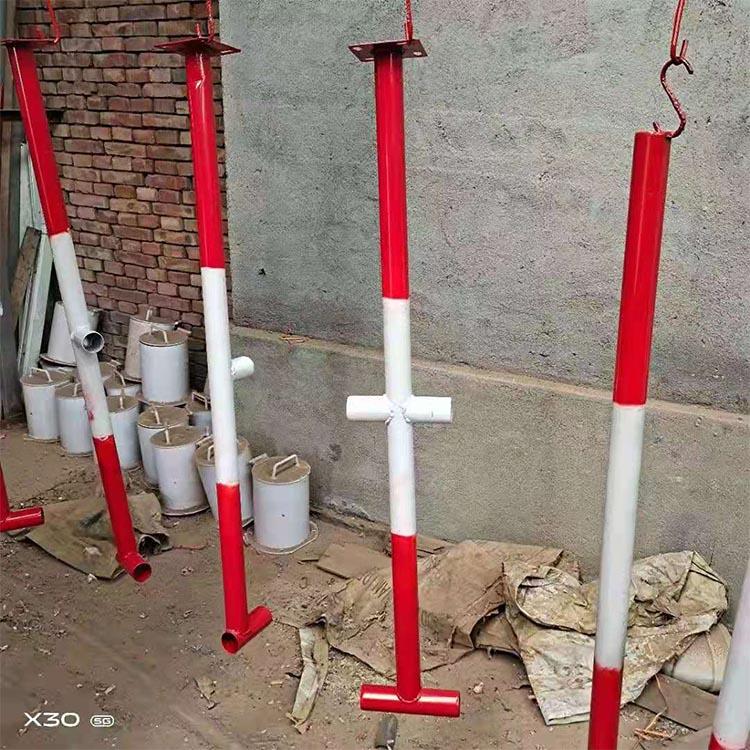 加工定制 施工楼梯扶手立杆 工地防护立杆 可订购 边防护栏立杆
