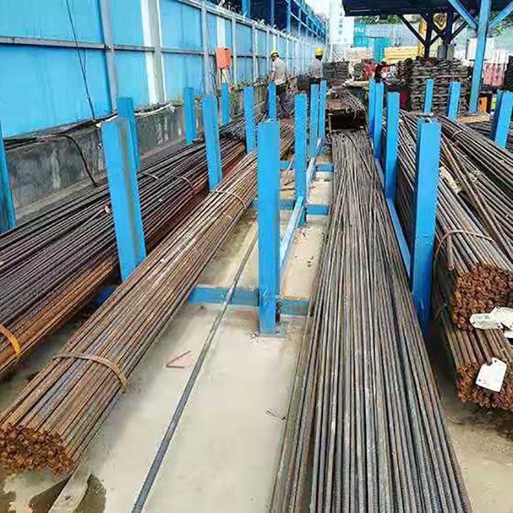 钢筋堆场 钢筋原材堆场 现货供应 交通钢筋堆放架 价格合理