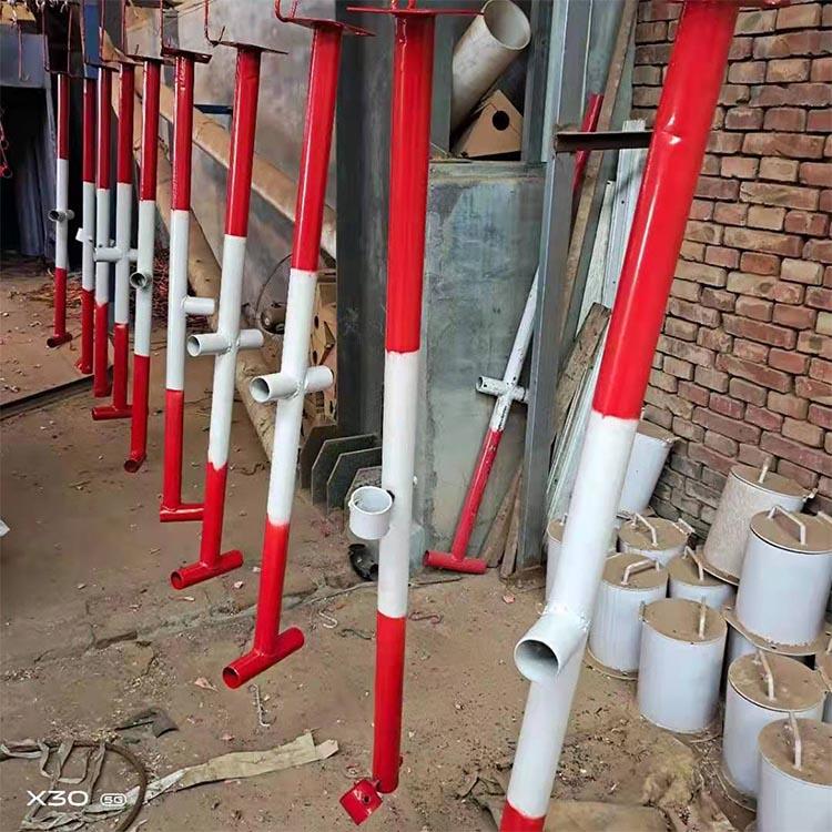 长期供应 施工楼梯扶手立杆 建筑防护栏立杆 可定制 基坑防护栏立杆
