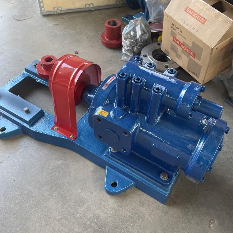 螺杆泵 3G型42*4三螺杆沥青保温泵 高粘度输送小型螺杆泵