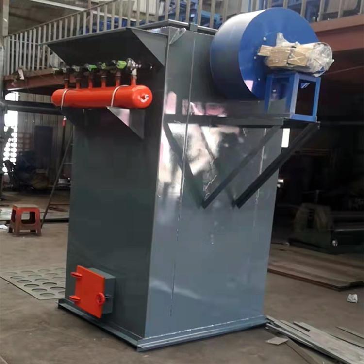 单机48袋脉冲除尘器 工业除尘设备厂 布袋脉冲除尘器 粉尘单机布袋除尘器
