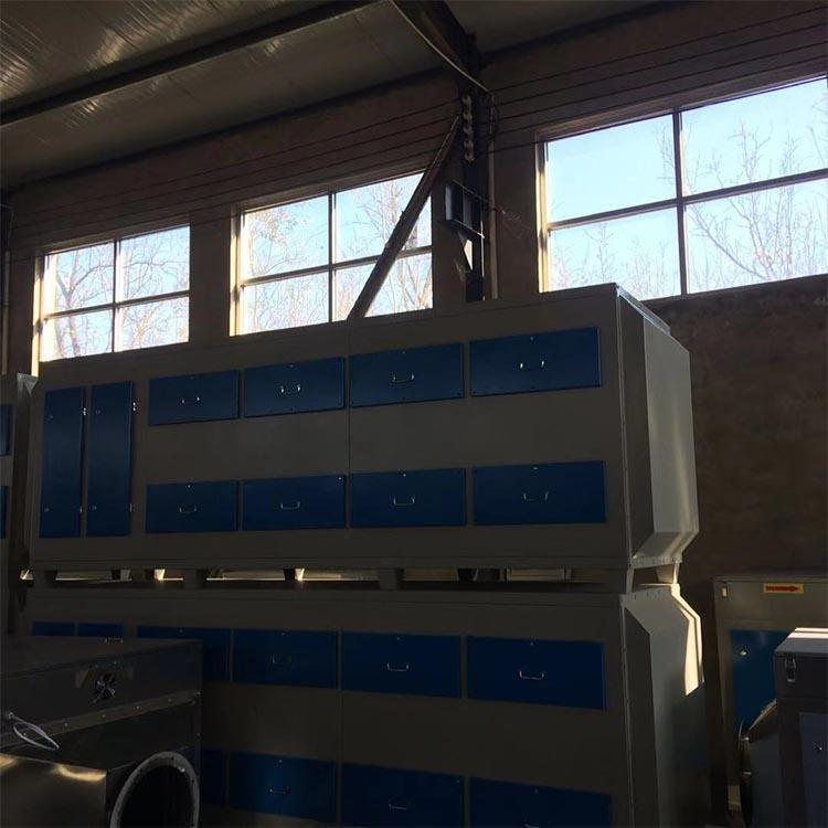 活性炭净化器 环保设备 厂家直供 抽屉式活性炭吸附箱 量大优惠