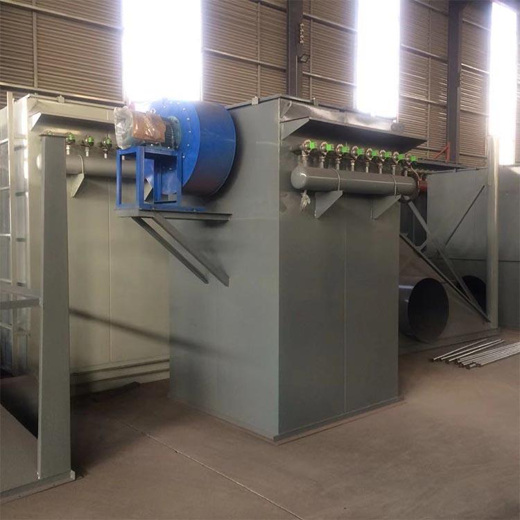 现货 中央布袋除尘器 中频炉布袋除尘器 单机脉冲除尘器 支持订制