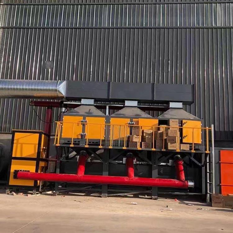 废气处理成套设备 工业废气处理设备 按需生产 催化燃烧设备 匠心工艺
