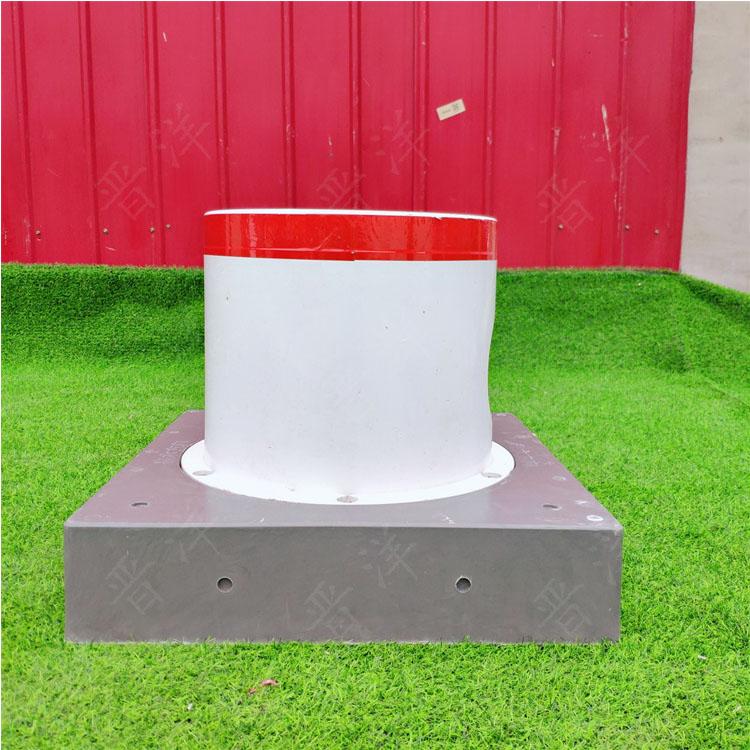 生产 玻璃钢保护装置 出水口保护罩 玻璃钢阀门出水桩
