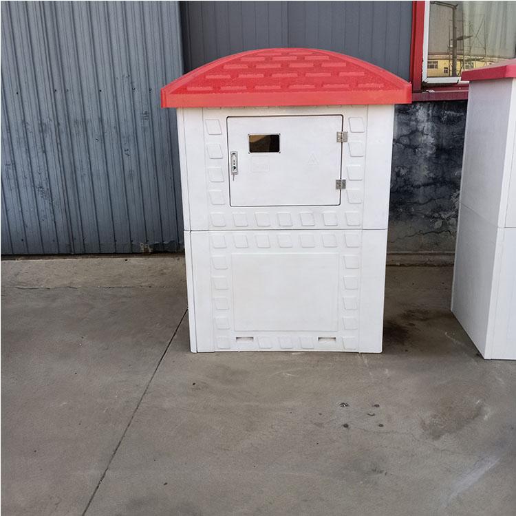 厂家供应 防盗机井房 加工 玻璃钢模压井房 农业智能灌溉井堡