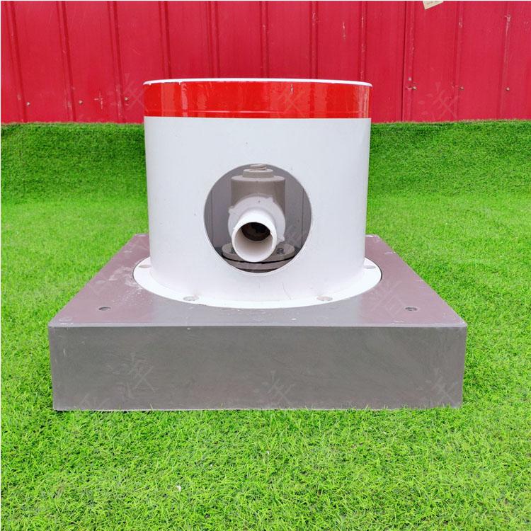 生产 高标准农田灌溉 出水口美化罩 玻璃钢扬程管