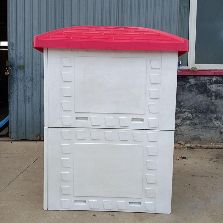 晋洋生产 农业智能灌溉井堡 加工 玻璃钢井堡配电箱 玻璃钢井房