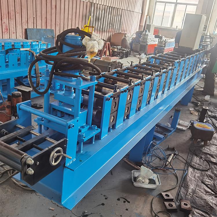 现货销售 全自动C型钢檩条成型机 冷弯冲孔C型钢设备 C型钢压型设备 价格合理