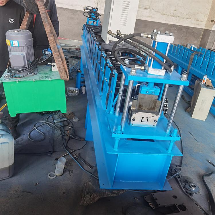 现货供应 无极C型钢设备 可双拼焊接C型钢设备 C型钢压瓦机 服务贴心
