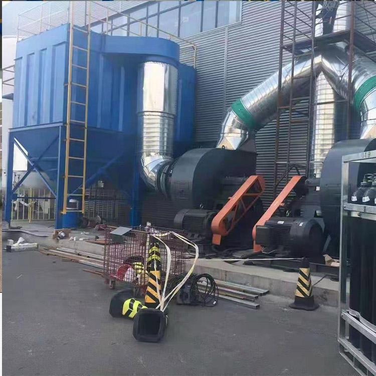 按图加工 单机布袋除尘器 锅炉布袋除尘器 工业车间除尘器 支持订制 质量稳定
