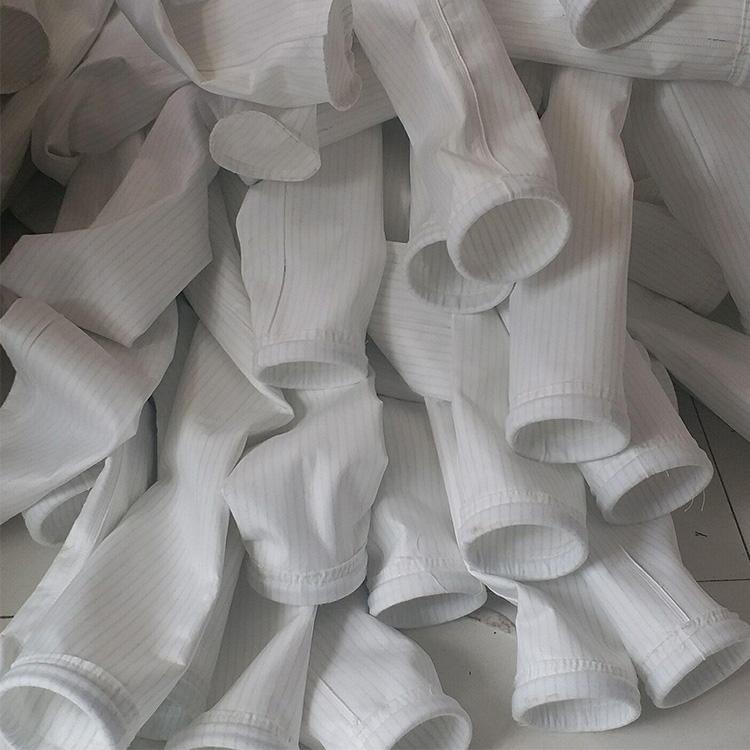 现货供应 亚克力除尘器滤袋 扛静电针刺毡布袋 涤纶针刺毡滤袋
