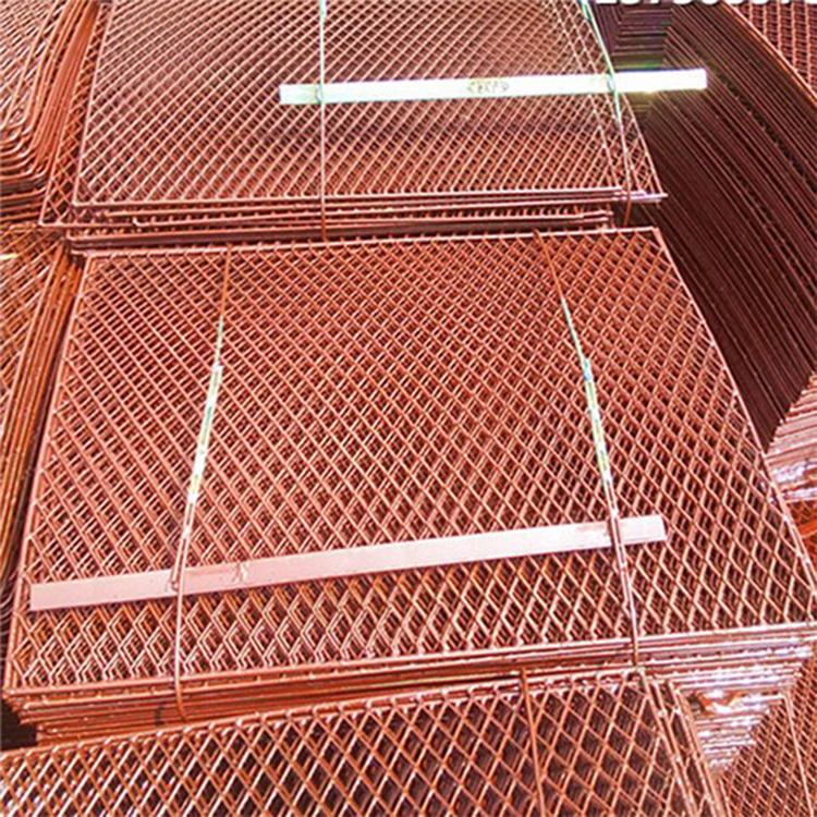 按需生产 外墙脚手架钢笆网 冲孔脚踏网 菱形钢笆网片 支持定制 欢迎订购