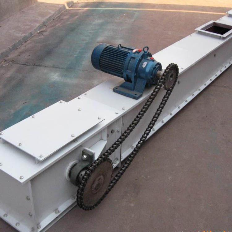 埋刮板输送机 单板链刮板机 厂家生产 水平矿用刮板输送机