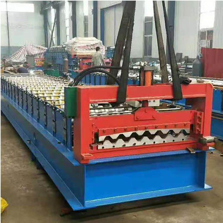 双层压瓦机 840900型压瓦机 彩钢板冷弯机 震宇定制 双层压瓦机设备