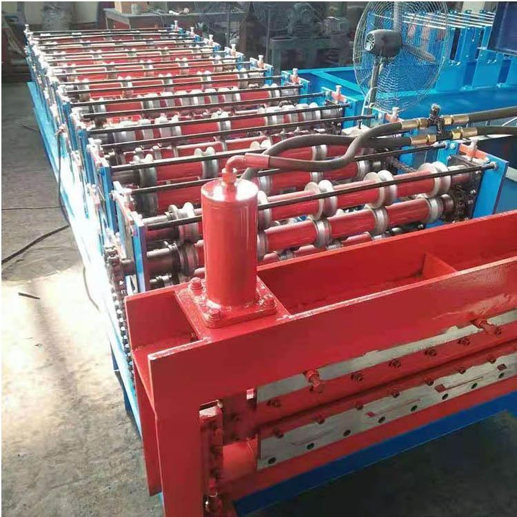双层压瓦机设备 厂家供应 数控彩钢压瓦机 电脑控制压瓦机 单层压瓦机