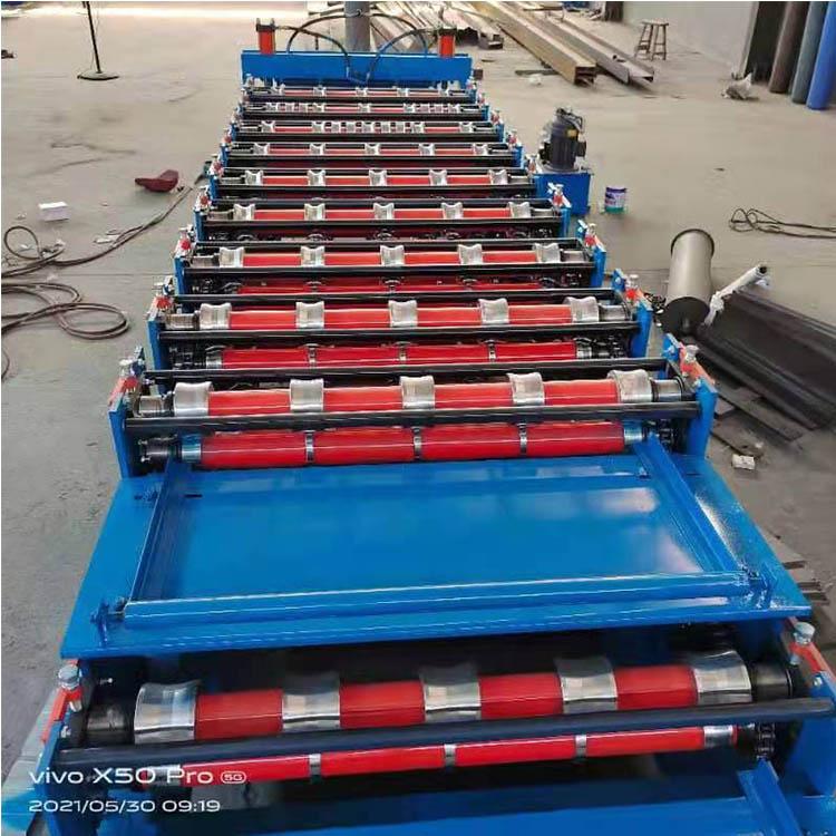 彩钢瓦设备 双层彩钢瓦机器 彩钢瓦机械设备 供应 双层压瓦机设备