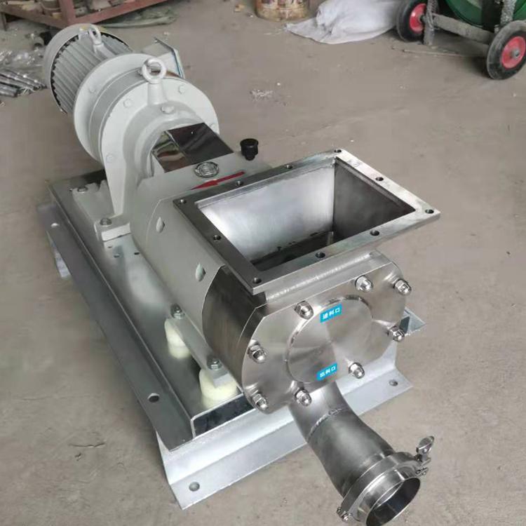 日化食品高粘度不锈钢输送泵,凸轮式转子泵,高粘度凸轮转子泵