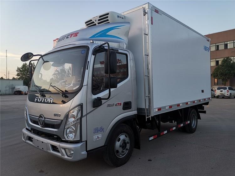 4.2米蓝牌福田奥铃CTS厢式冷藏车