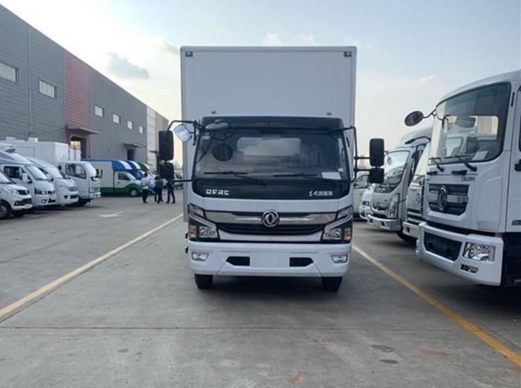 国六东风大多利卡D7黄牌5.2米冷藏车