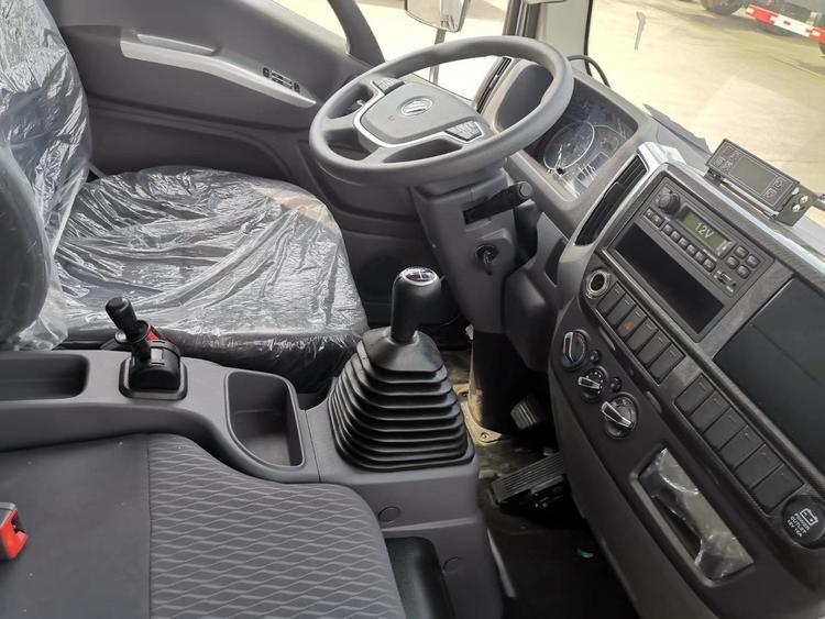 4.2米蓝牌福田奧鈴CTS厢式冷藏车