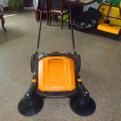 现货无动力扫地机手推式无尘道路清扫机大容量环卫清洁扫地车厂家