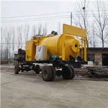 牵引式沥青混合料搅拌机 公路修补沥青拌合机 彩色沥青搅拌设备