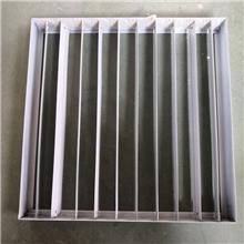 铝合金防雨百叶风口 中央空调出风口百叶 新风系统出风口