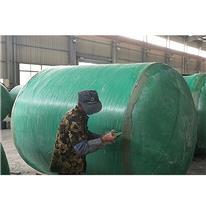 厂家供应 一体式玻璃钢化粪池 农村化粪池批发 各种规格定制
