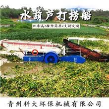 福建现货水葫芦打捞船 科大_水浮莲打捞船定制 水面漂浮物打捞船