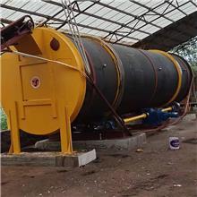 污泥处理有机发酵设备_污泥好氧生物发酵处理成套设备
