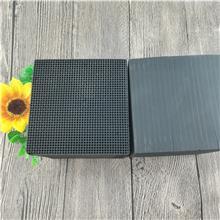 君林批发 喷涂废气蜂窝活性炭 蜂窝状活性炭滤料 块状活性炭砖
