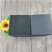 厂家生产 净化蜂窝状活性炭 催化燃烧活性炭 喷漆烤漆房废气过滤箱