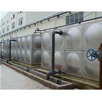 卧式不锈钢水箱 保温水箱 生活水箱 南通水箱定制