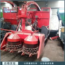 山东供应 履带式青储机 自走式牧草收割机 双转盘青储机