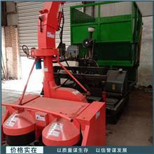 长期销售 双转盘割台青储机 玉米秸秆收割机 大型履带式青储机