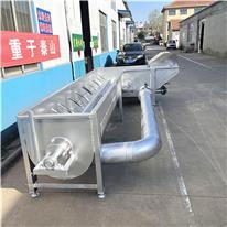 屠宰弯式浸烫池 操作简单 全自动弯式浸烫池 弯式浸烫池生产厂家
