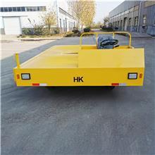 50吨电动平板车 电动拉货运输车 电动钢板车 加厚电动工具车 实力厂家