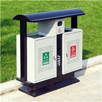 钢制垃圾桶 壹影阁 分类果皮箱 环卫垃圾桶 镀锌板垃圾桶 厂家批发