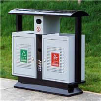 镀锌板垃圾桶 环卫垃圾桶 公园街道垃圾桶 壹影阁 量大价优