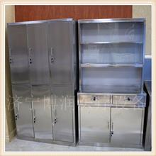 现货直供 不锈钢六门更衣柜 橱柜全不锈钢 不锈钢六门座面针剂柜