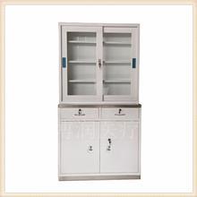 长期供应不锈钢办公文件柜 不锈钢座面药品柜 不锈钢双开门座面针剂柜