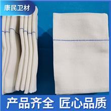 康民 显影纱布块批发供应 脱脂纱布块大量现货 医用纱布块厂家直售 量大从优