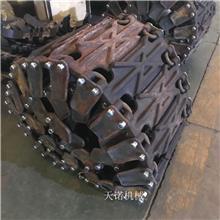 厦工60铲车用轮胎保护链 装载机防滑履带板 天诺机械二代新品