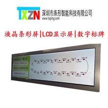 深圳液晶条屏 28寸双面条形屏  LCD条形屏定制 条形智能